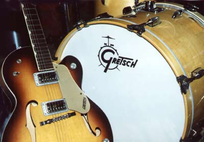 Gretsch Guitar and Drums